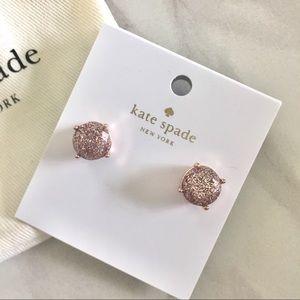 KATE SPADE Gumdrop Glittery Earrings